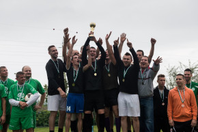 Brendon wins Prologis Budapest Football Games