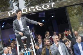 Peugeot sponzoruje tenisovou ATP World Tour