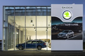 1500 Skoda dealerships feature new corporate design