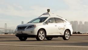 Google jedná s Velkou Británií o autech bez řidiče