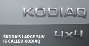 ŠKODA's large SUV is called Kodiaq