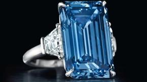 Nikdy v historii se nedražil tak velký modrý diamant
