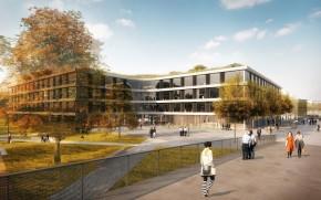 ČSOB vybrala návrh budovy v Hradci Králové