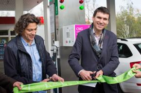 Innogy opened a CNG filler in Melnik