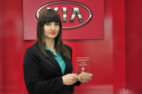 PR Manager of the Year: K. Jouglickova from Kia Motors Czech