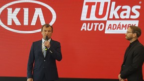 TUkas opens new Kia showroom in Prague