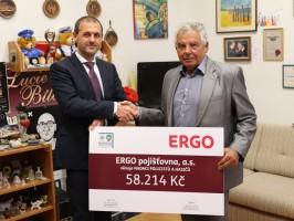 ERGO zasponzorovala policisty a hasiče