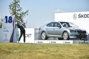 Škoda sponzorem golfových Czech Masters
