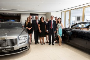 British minister visited Rolls-Royce Prague