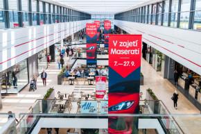 Maserati starts exhibition in Arcady