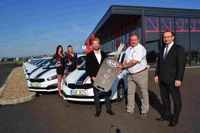 Kia delivers car fleet to Most Autodrome