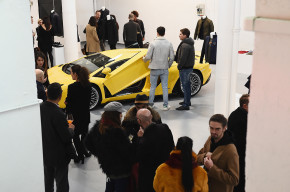 Automobili Lamborghini at Milan Fashion Week