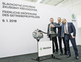 Škoda expands its development centre