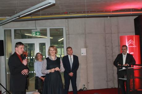 Tiskovka se konala v prostorách budovy InnoCrystal Praha – Zlatníky