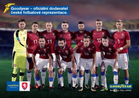 Goodyear sponsores Czech football