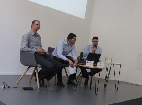 Zleva: Jaroslav Král, Tomáš Neřold a Petr Neuvirth