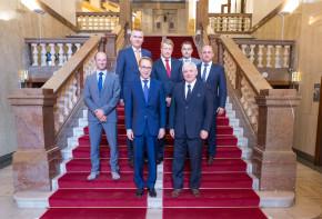 Prezident Bundesbanky Weidmann navštívil ČNB