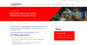 ČMZRB: Zveřejnění výzvy k novému programu INFIN