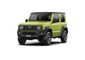 Suzuki Jimny vydělalo Charitě Nový Hrozenkov