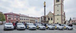 Škoda předala sedm octavií v Dobrušce