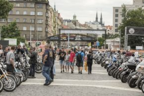 Holešovice hostily Prague Harley Days 2019