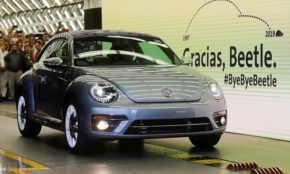 VW ends Beetle production in Mexico to make room for SUV