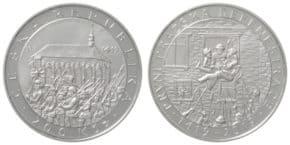 ČNB vydává novou pamětní minci