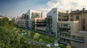 Vzniká nový rezidenční objekt Žižkovské pavlače