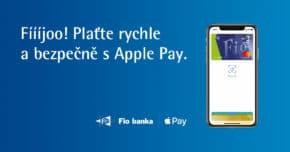 Fio banka spoustila Apple Pay