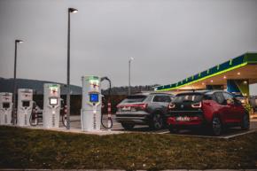 OMV otevírá čerpací stanici vOstravě