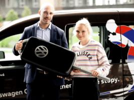 Šebesta dal VW Caddy nadějné běžkařce
