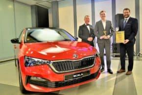 Flotilovým autem roku 2020 je Škoda Scala