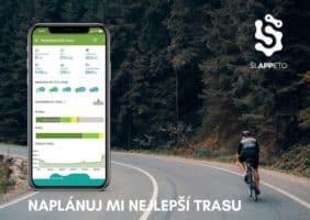 Šlappeto – bezplatná aplikace Kooperativy pro cyklisty