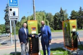 Pět nových nabíječek pro elektromobily v Ostravě