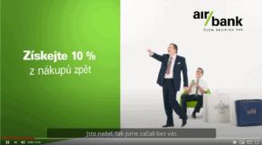 Air Bank novým klientům nabízí až 500 korun