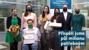 Volkswagen FS podpořila Centrum Paraple