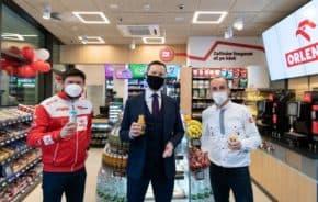 Benzina ORLEN otevřela v Karlíně Stop Cafe